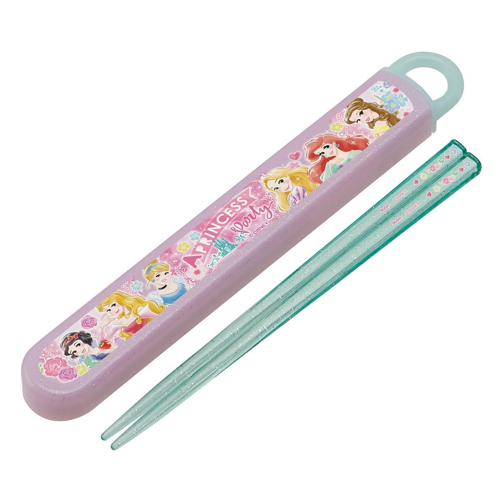 プリンセス  抗菌食洗機対応箸&スライド箸箱セット[16.5cm] ABS2AMAG