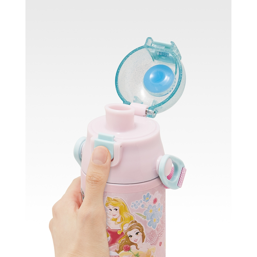 プリンセス   ロック付きワンプッシュダイレクトステンレスボトル[580ml]超軽量コンパクトタイプSDC6N