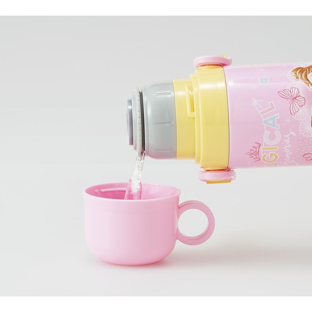 プリンセス  キャップを替えて使い方2通り2WAYステンレスボトル[570-580ml] SKDC6