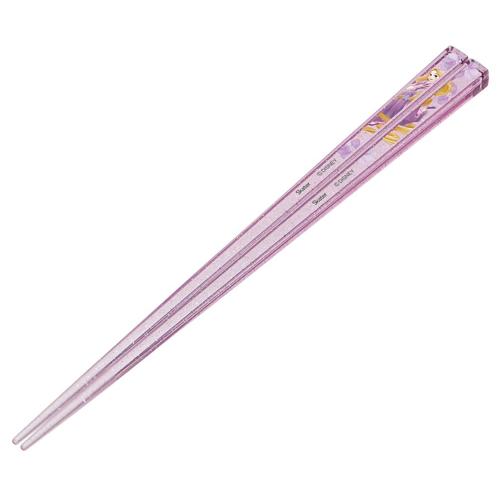 アクリル製クリアなお箸[21cm]●ラプンツェル●AAC45