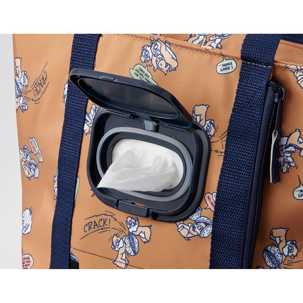 ウェットティッシュポケット付きランチバッグ チップ&デール  KCLBP1