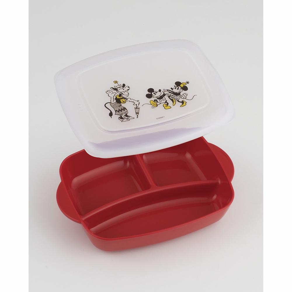 おうちで食べるお弁当箱(M)[640ml] ミッキーマウス LHM1