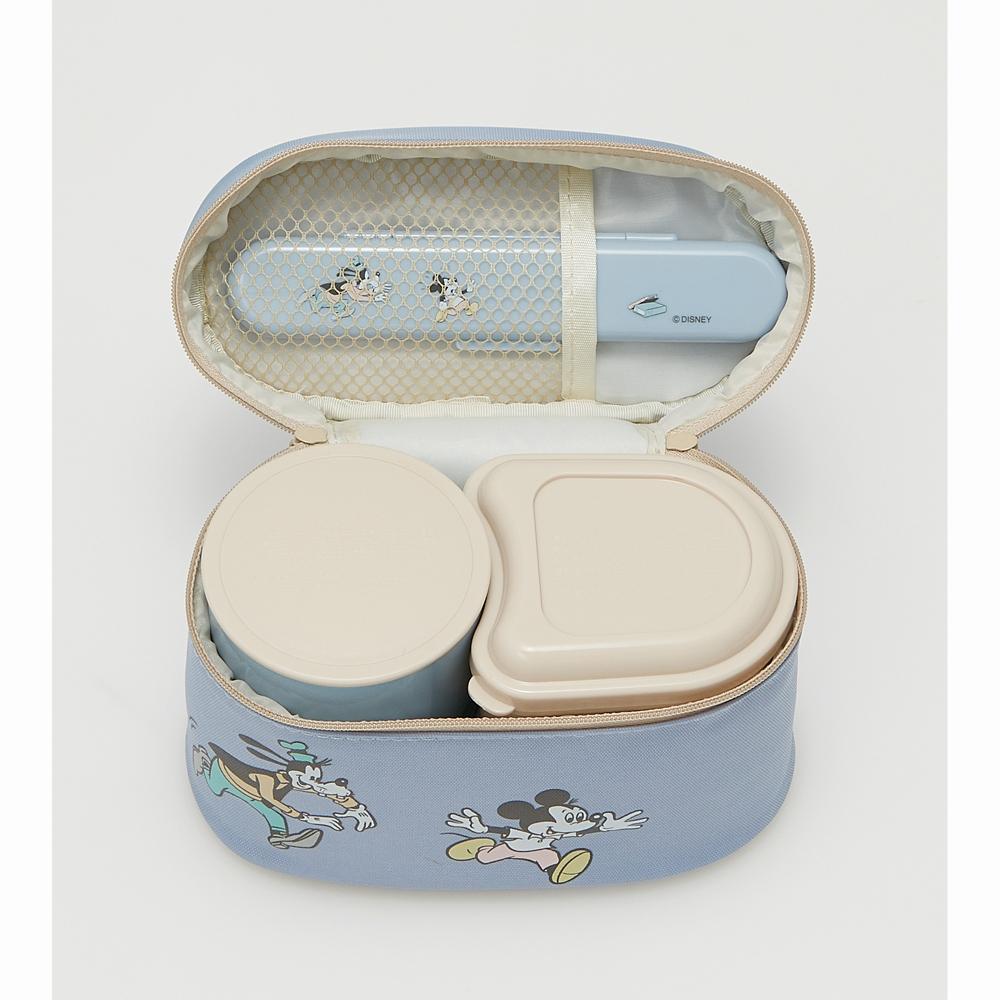 抗菌保温ジャー付きランチボックス[総容量560ml] ミッキーマウス スモーキーカラー KCLJC6AG