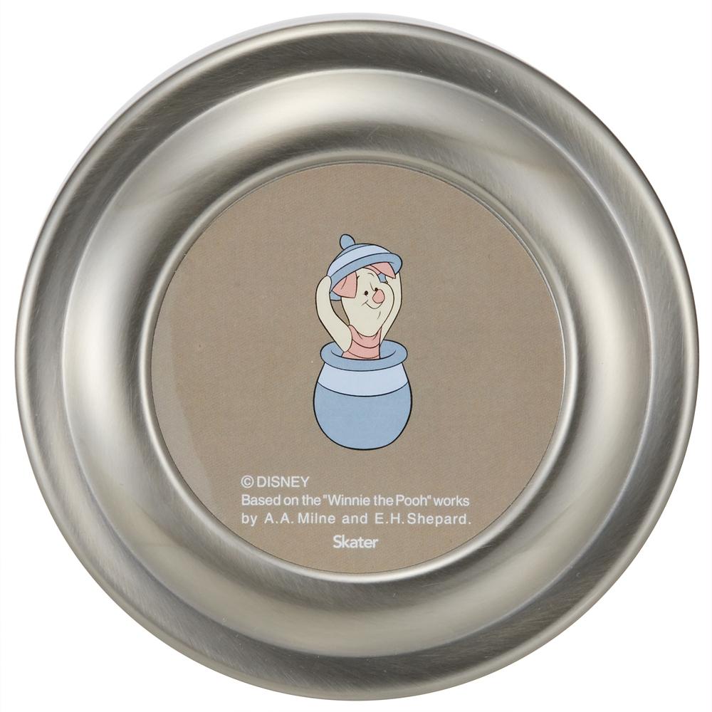 抗菌真空ステンレス丼ランチジャー[総容量:550ml] くまのプーさん スモーキーカラー STLBD6AG