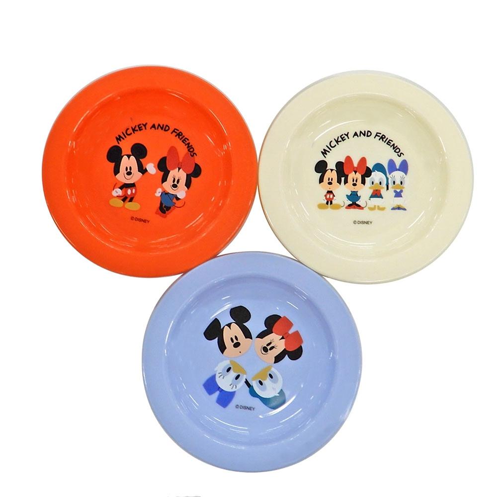 小皿3Pセット(12cm) ミッキーマウス P3