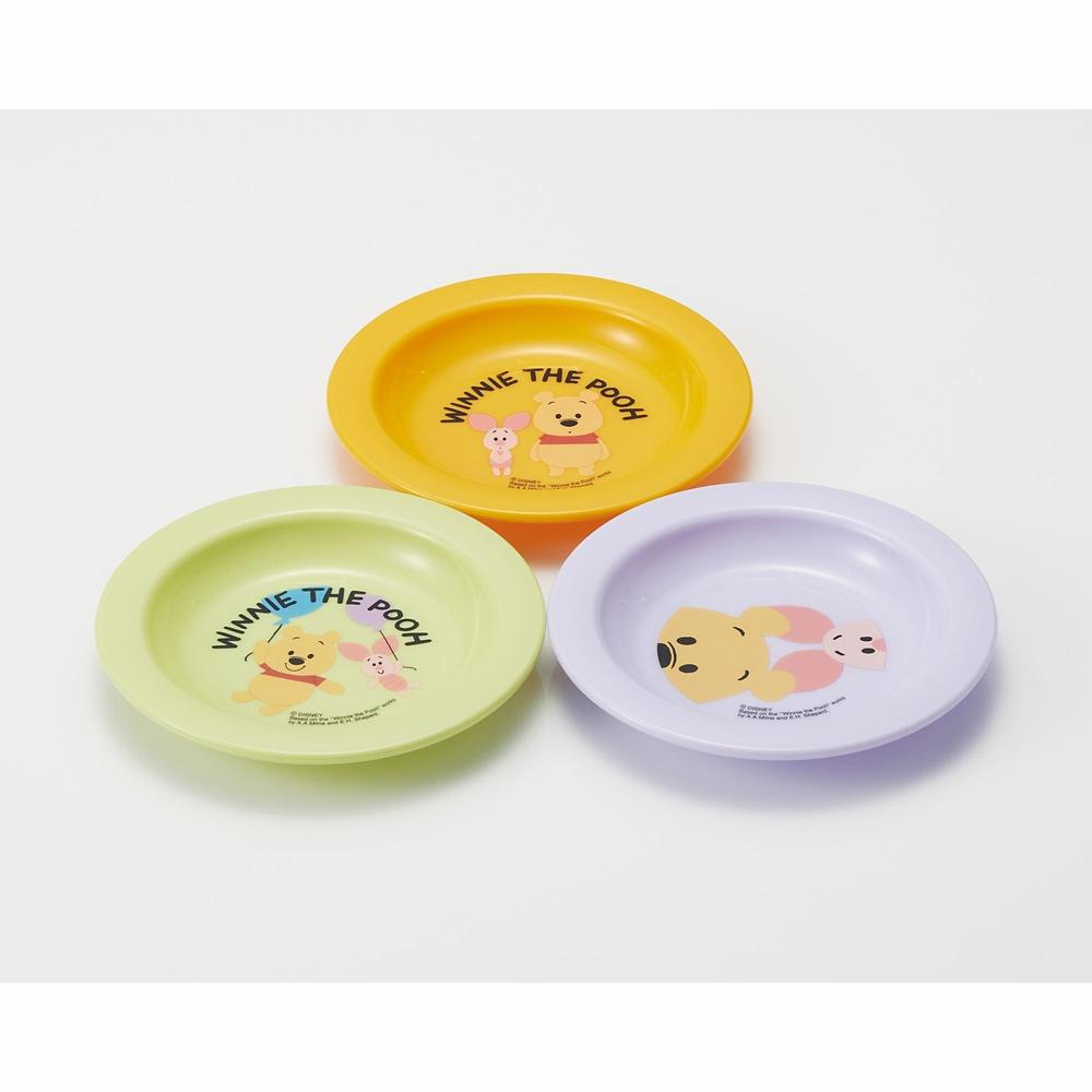 小皿3Pセット(12cm) くまのプーさん P3