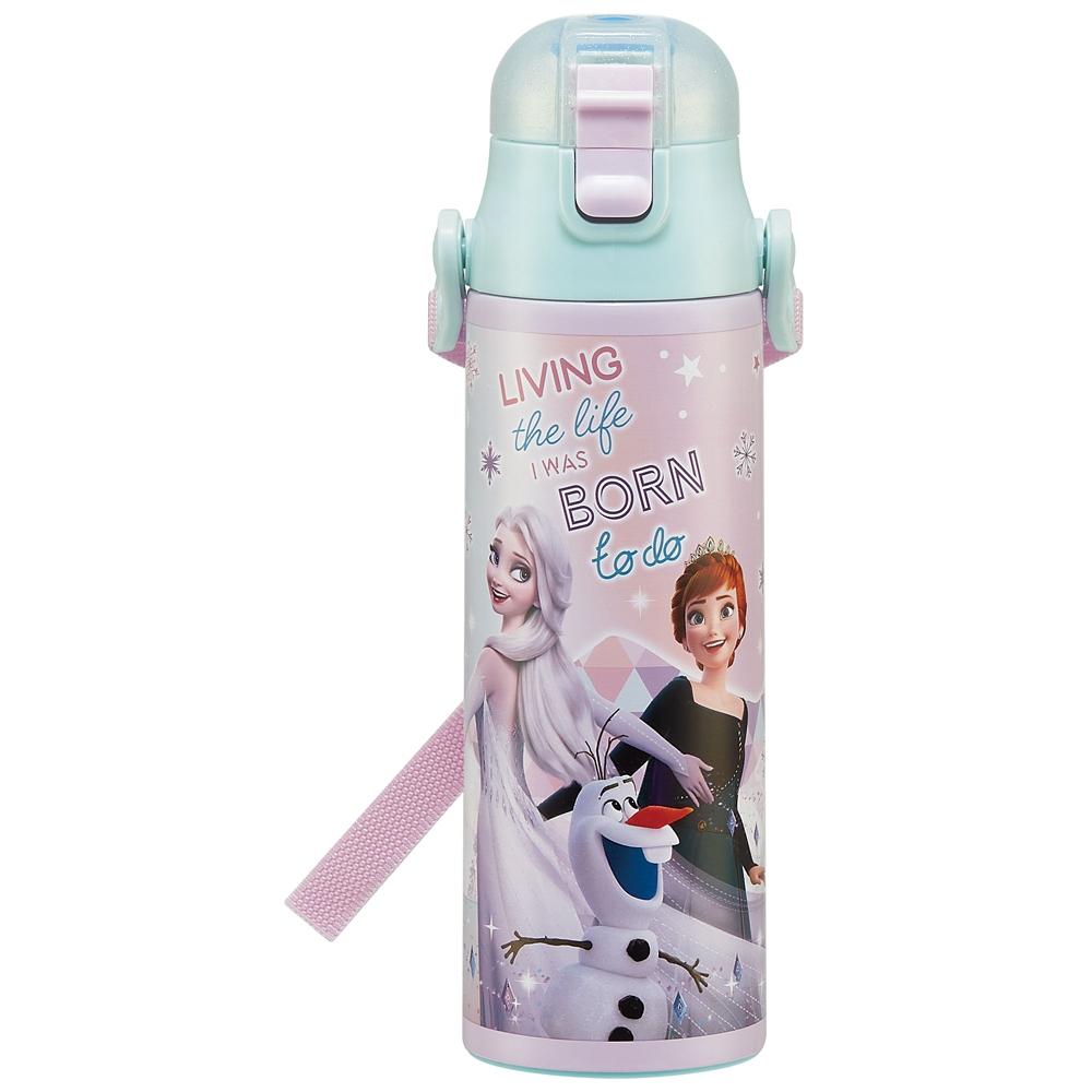 キャップを替えて使い方2通り2WAYステンレスボトル[570-580ml] アナと雪の女王 22 SKDC6