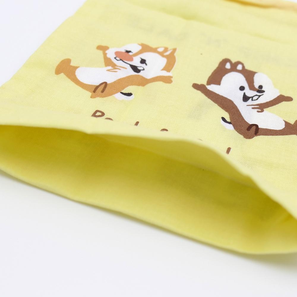 歯ブラシホルダー付コップ袋 チップ&デール くすみキュート KB62