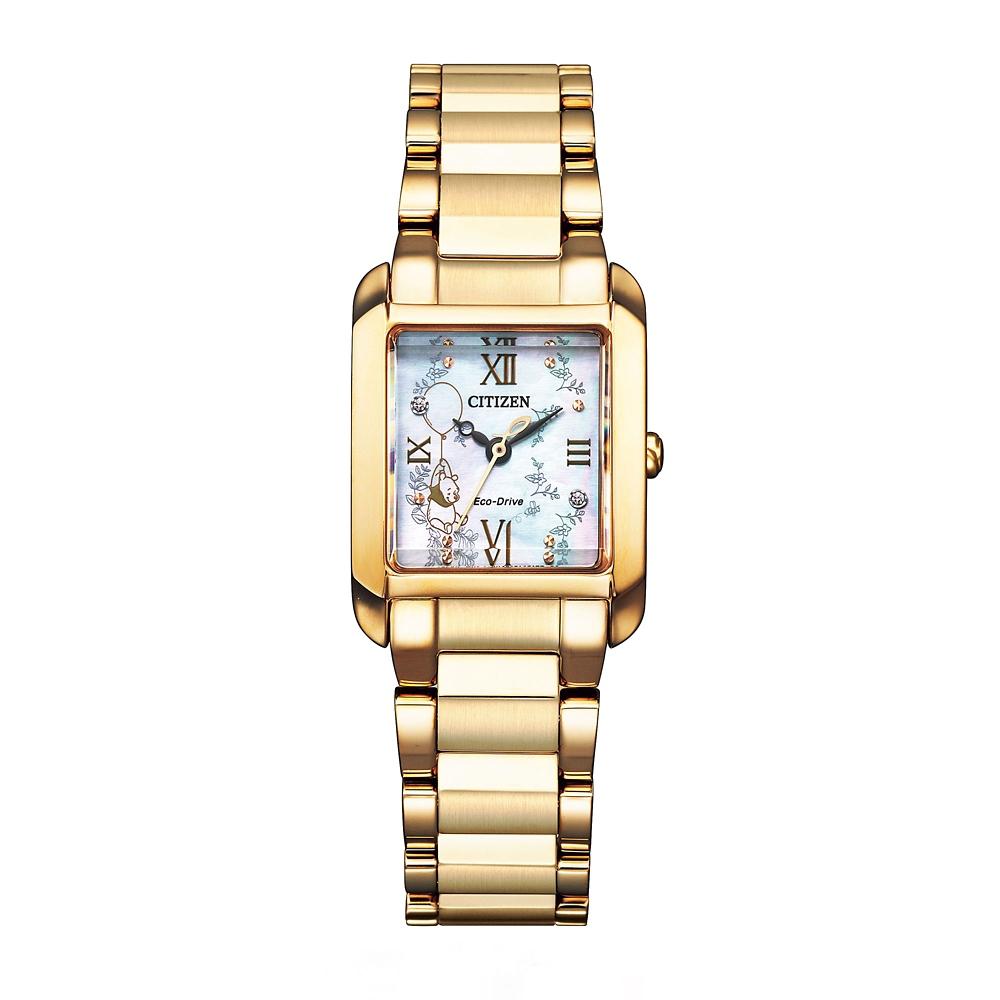 【CITIZEN L】 プーさん 腕時計・ウォッチ