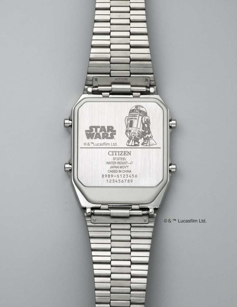 【予約商品】シチズン アナデジテンプ STAR WARS R2-D2 JG2117-51A