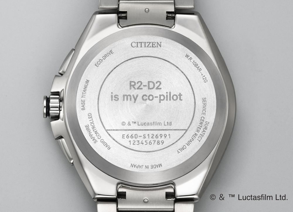 【予約商品】シチズン アテッサ STAR WARS R2-D2 CB5040-71A
