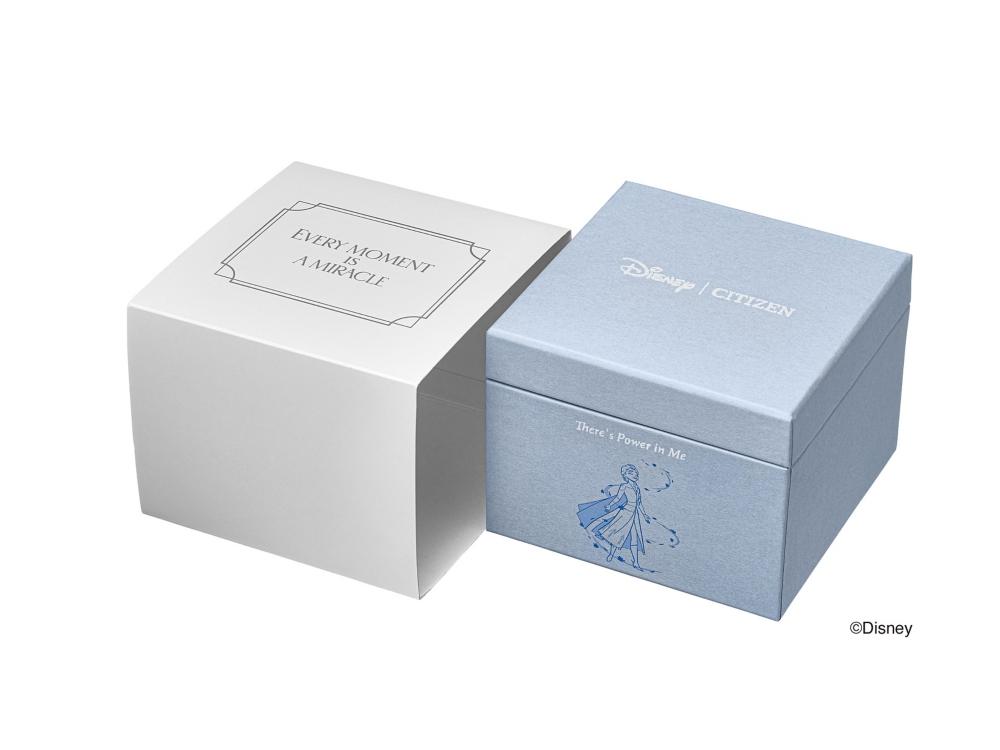 【予約商品】シチズン クロスシー アナと雪の女王 エルサ EW3221-51L
