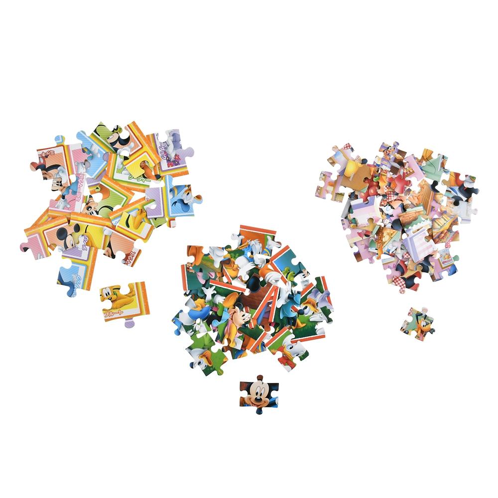 ミッキー&フレンズ はじめてのジグソーパズル ステップ1 たのしいまいにち