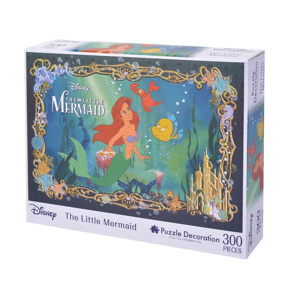 アリエル、フランダー、セバスチャン パズルデコレーション 300ピース The Little Mermaid