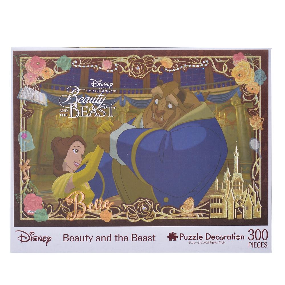 ベル&野獣 パズルデコレーション 300ピース Beauty and the Beast