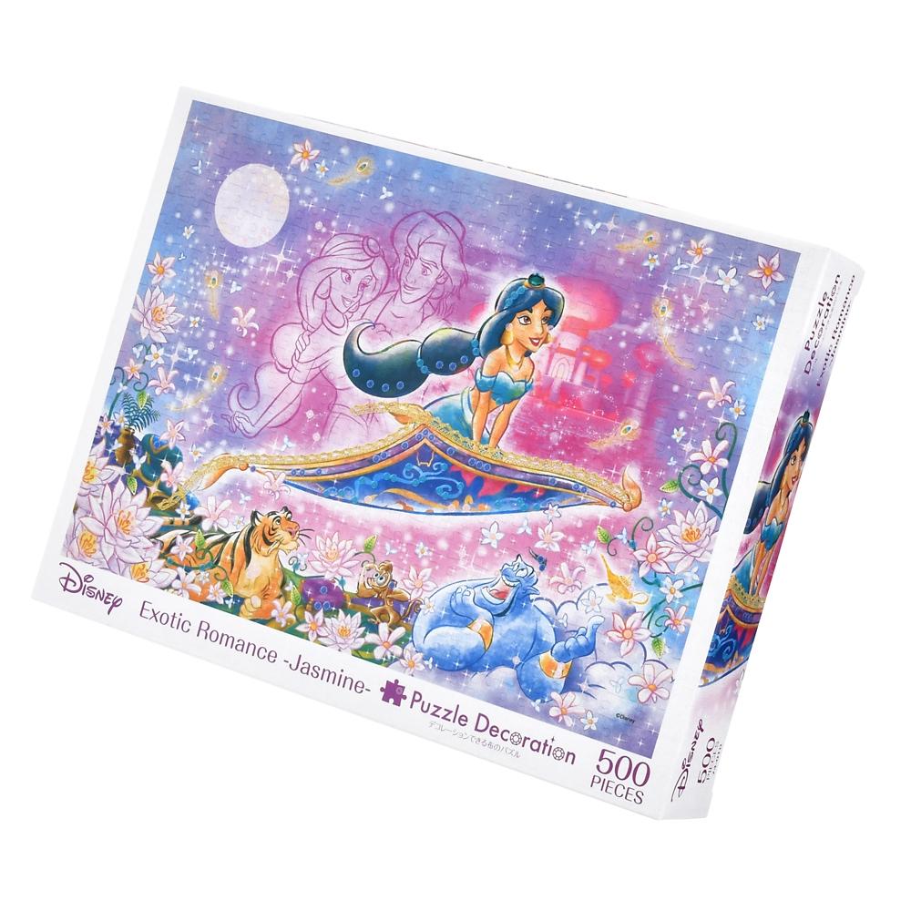 アラジン パズルデコレーション 500ピース Exotic Romance -Jasmine-
