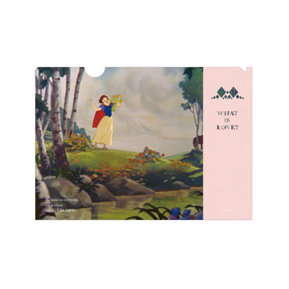 白雪姫 A4クリアファイル