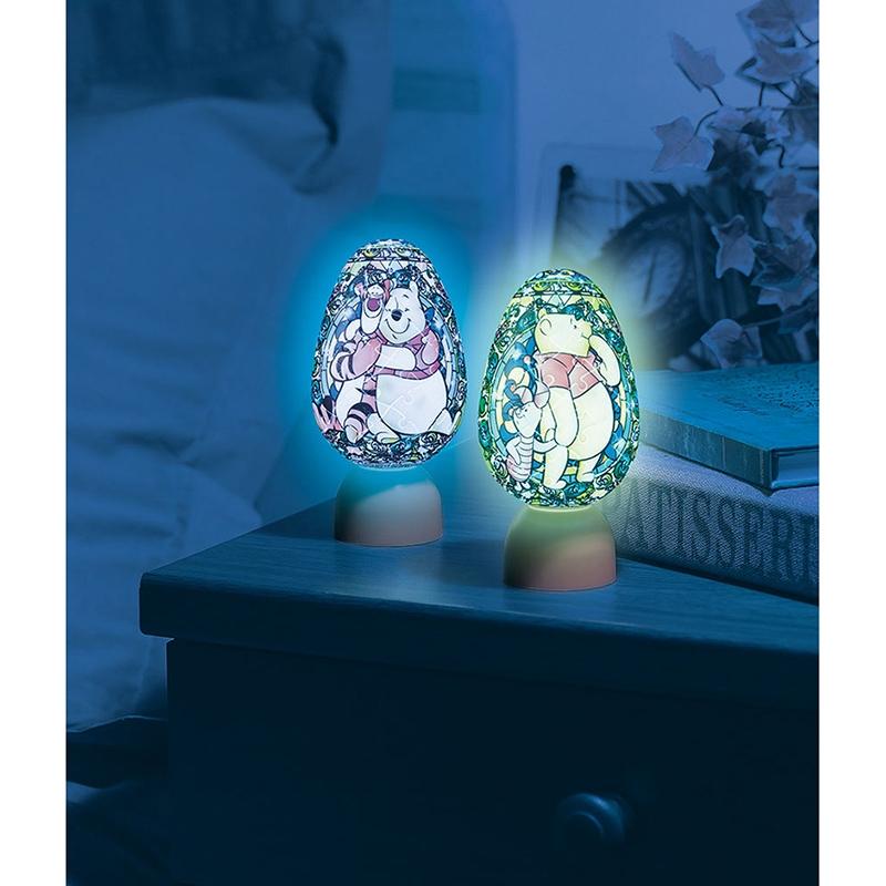 パズル LEDライト プー&フレンズ ジュエル パズランタンエッグ