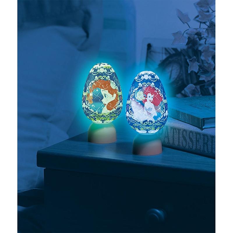 パズル LEDライト リトル・マーメイド クラウンエッグ パズランタンエッグ