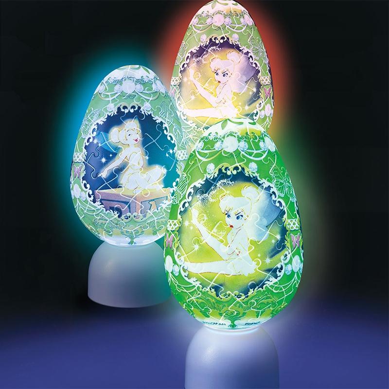 パズル LEDライト ティンカー・ベル クラウンエッグ パズランタンエッグ