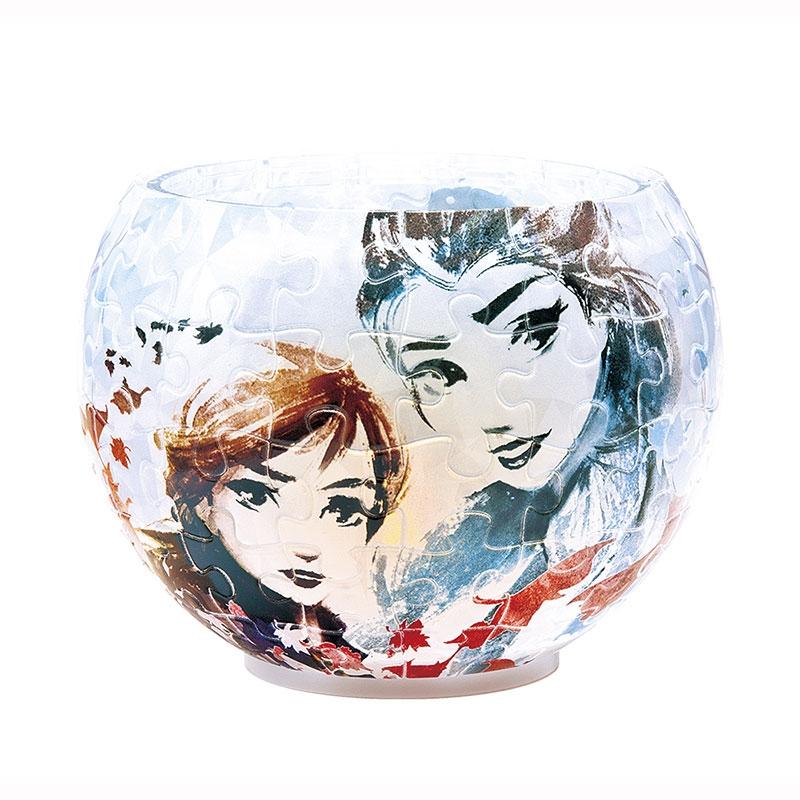 アナと雪の女王2 パズル LEDランプシェード