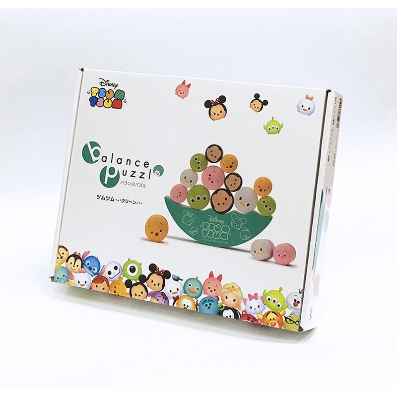 バランスパズル ツムツム ディズニーキャラクター グリーン TSUM TSUM