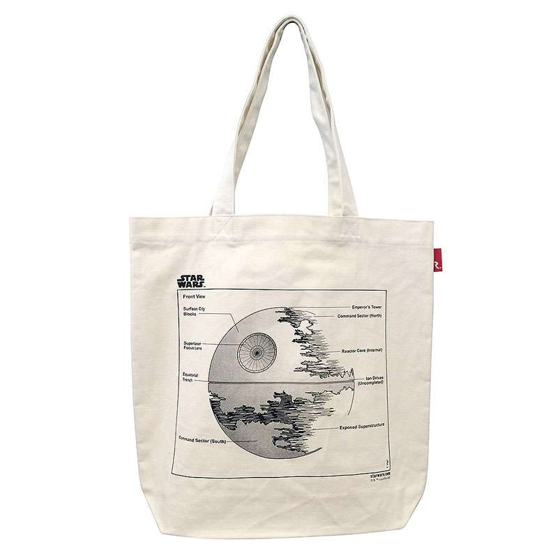 【ROOTOTE】トートバッグ スター・ウォーズ 第二デス・スター トール Printed in Japan