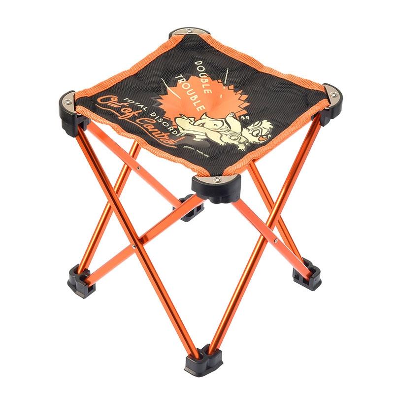 チップ&デール マイクロイージーチェア オレンジ
