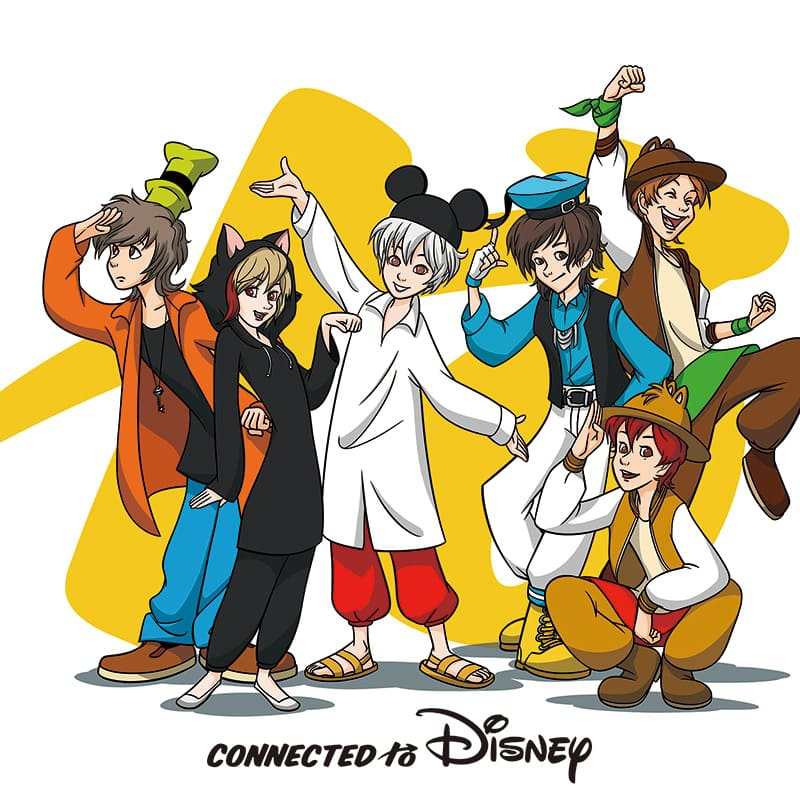 Connected to Disney (通常盤)