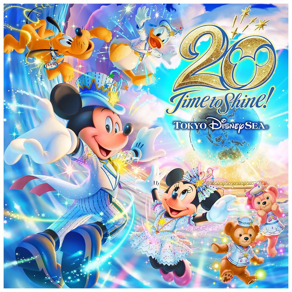 東京ディズニーシー20周年:タイム・トゥ・シャイン!ミュージック・アルバム [1CD]