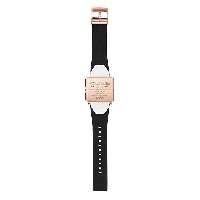 【smart canvas】腕時計・ウォッチ ミッキー&ミニー ホワイト ラブラブ