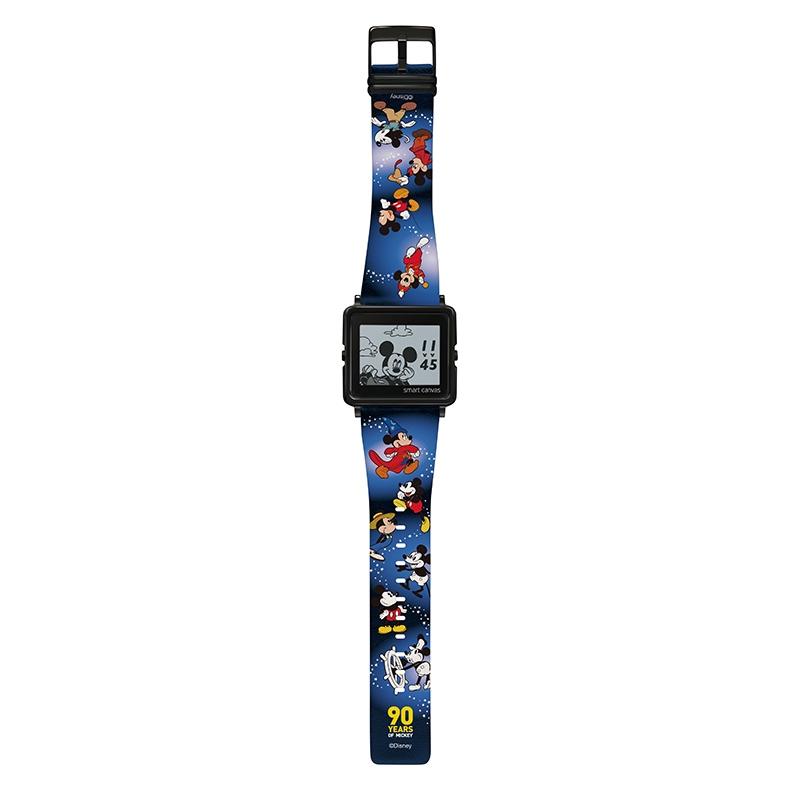 【smart canvas】腕時計・ウォッチ ミッキー スクリーンデビュー90周年