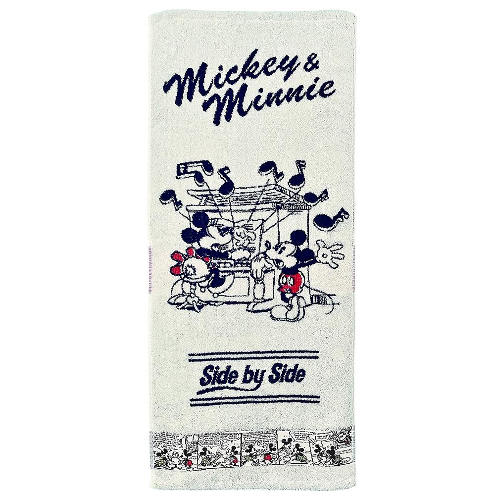 ミッキー&ミニー フェイスタオル コミックミッキー&ミニー