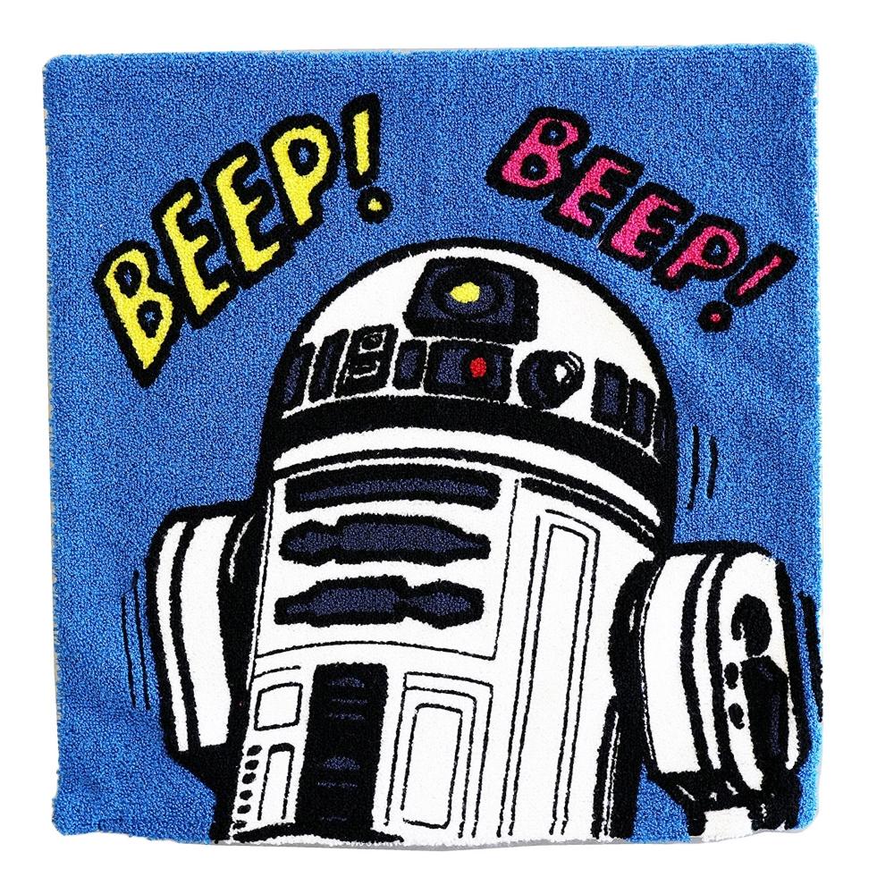 スター・ウォーズ R2-D2 クッション コミックドロイド
