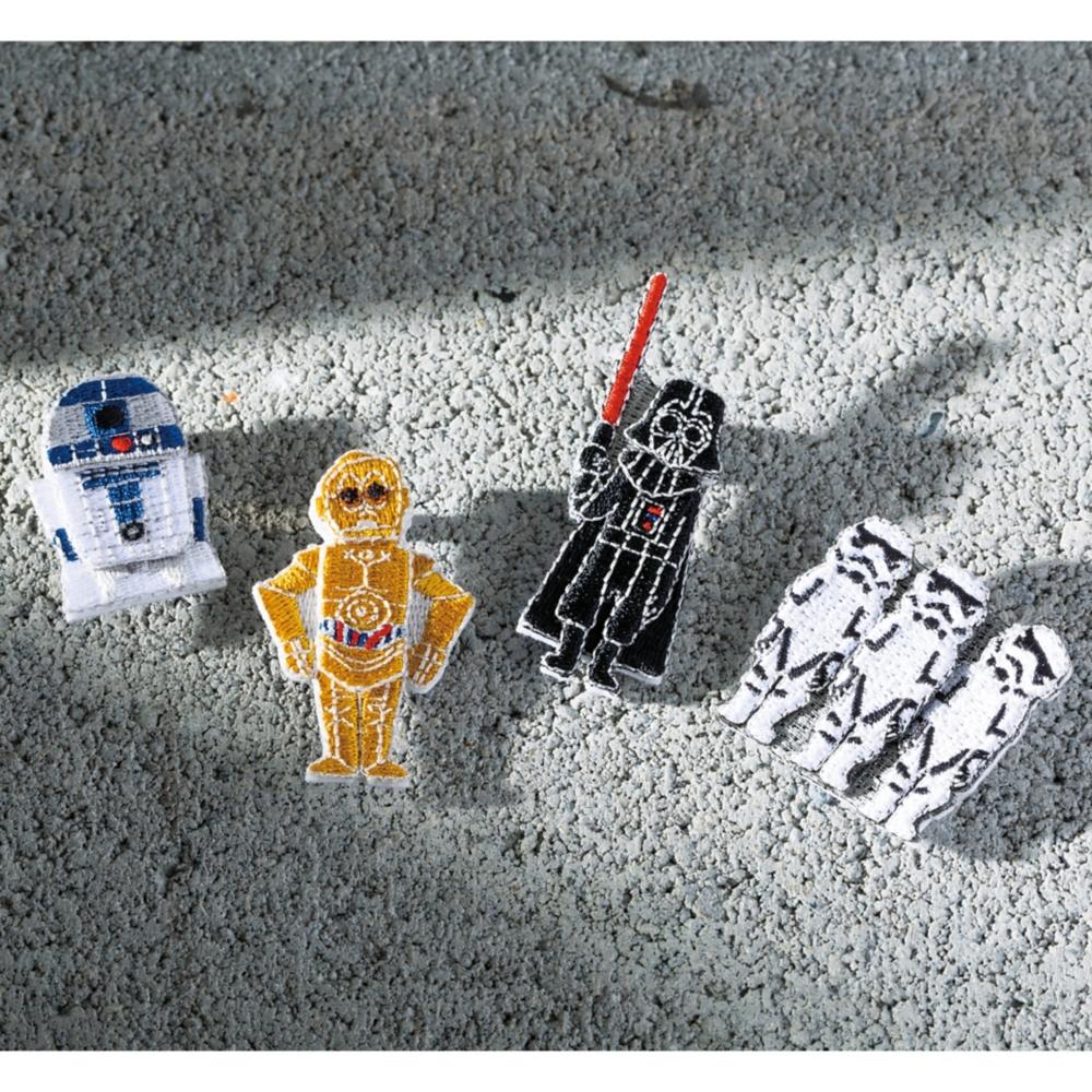 スター・ウォーズ R2-D2 刺繍ブローチ バッジR2-D2