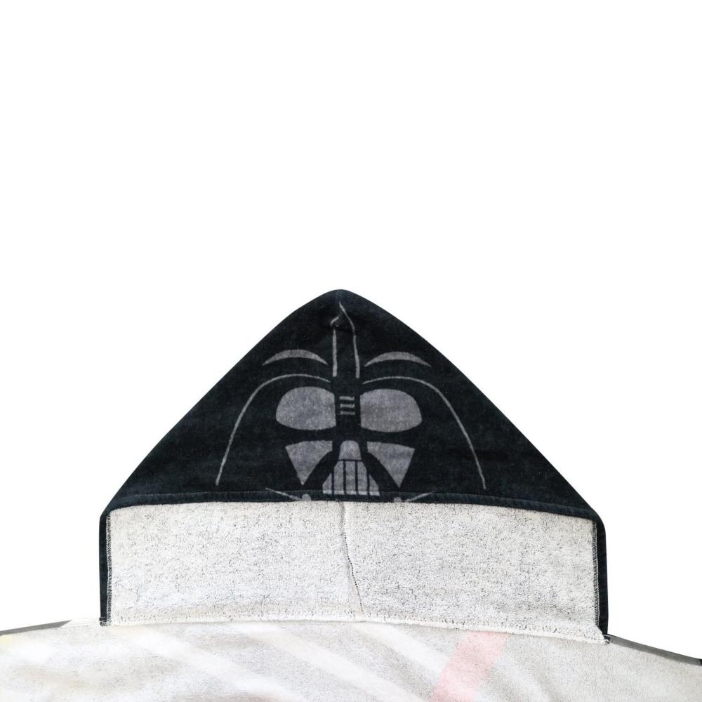 スター・ウォーズ ダース・ベイダー フード付きタオル ブラックスタイル
