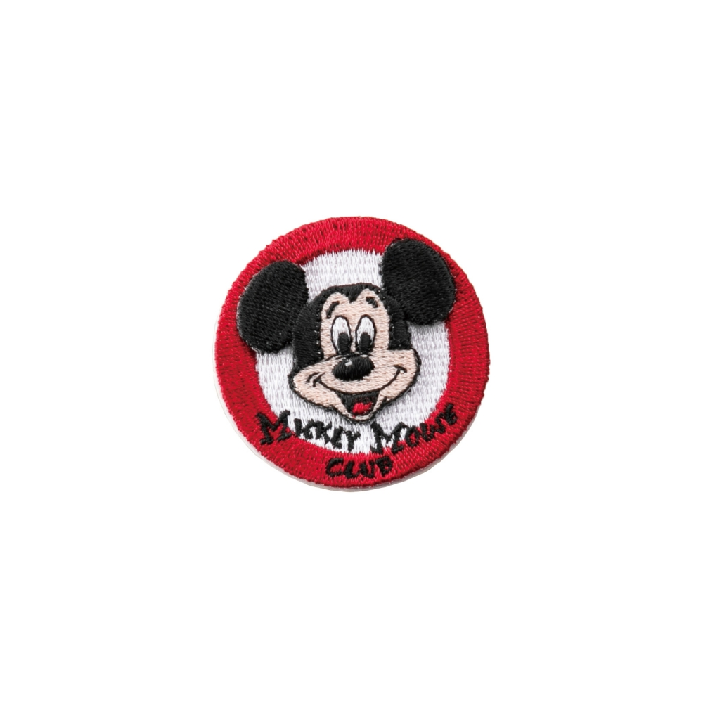 ミッキーマウス 刺繍ブローチ アイコン