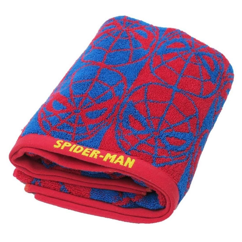 マーベル スパイダーマン バスタオル スパイダーマンフェイス