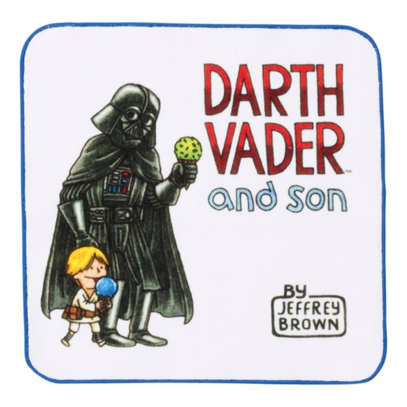 ミニタオル スター・ウォーズ ダース・ヴェイダーとルーク イートアイス DARTH VADER and son