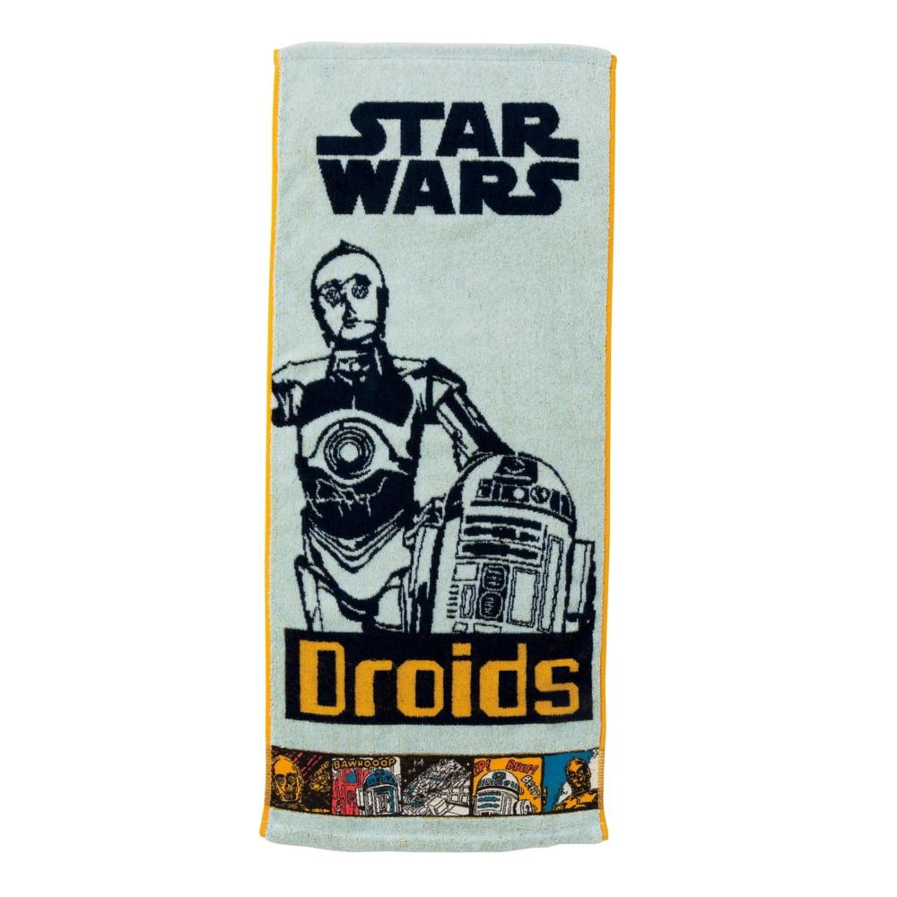 スター・ウォーズ C-3PO フェイスタオル コミックライト