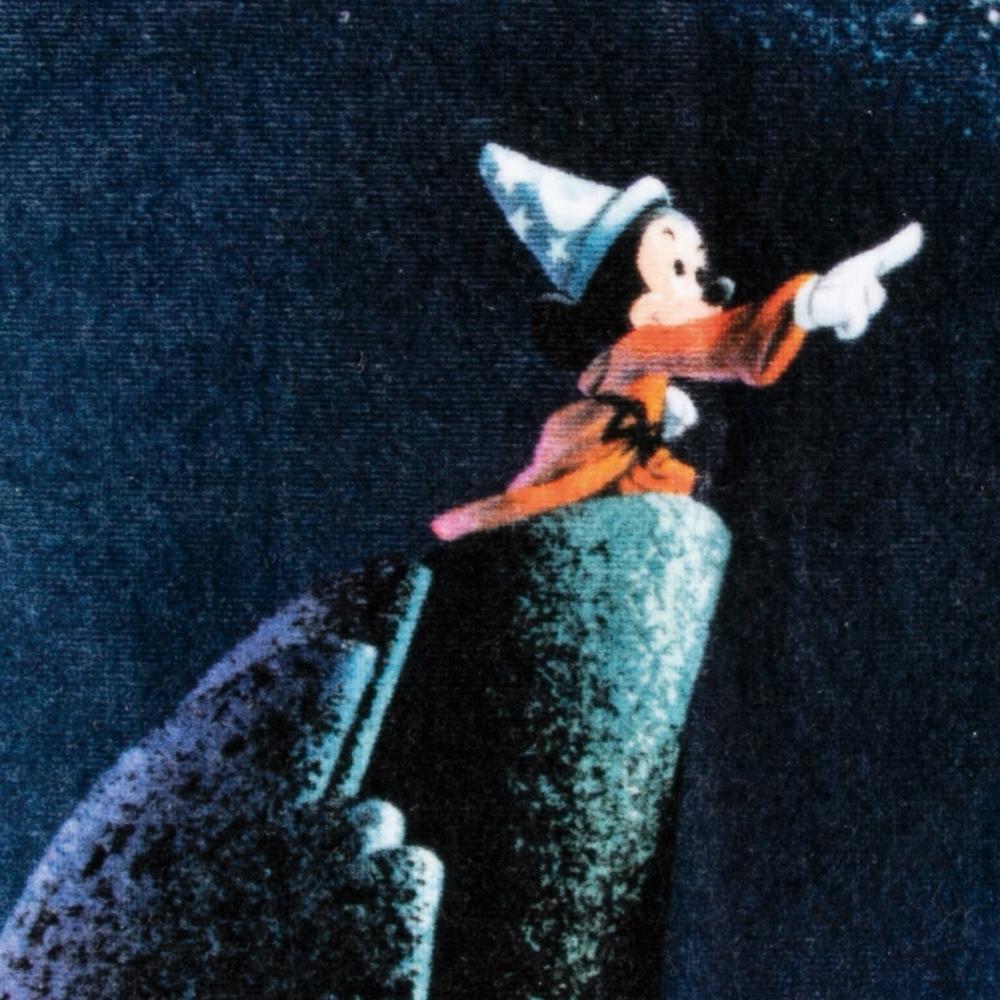 ミッキーマウス ファンタジア ウォッシュタオル 魔法使いの弟子
