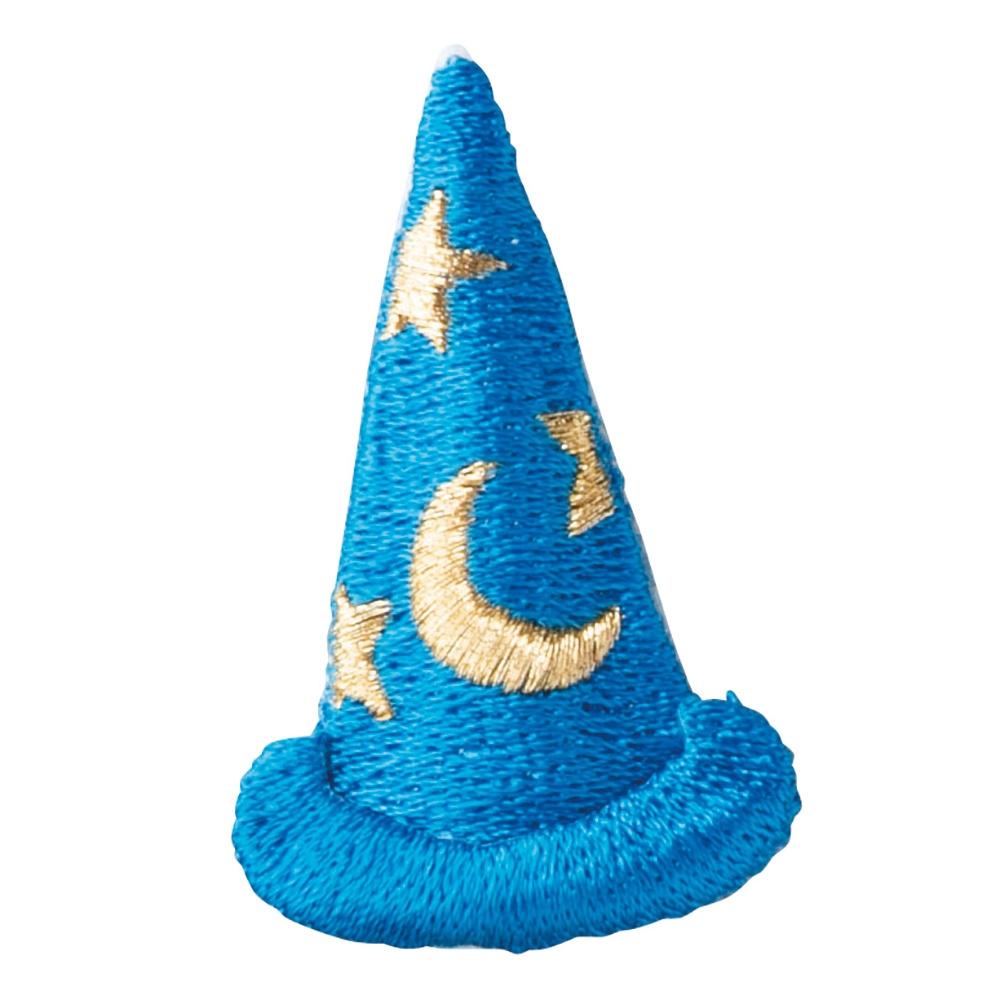 ミッキーマウス ファンタジア 刺繍ブローチ 魔法の帽子
