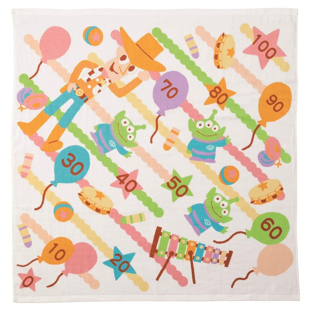 ウッディ&リトル・グリーン・メン/エイリアン 湯上げタオル 風船おもちゃ トイ・ストーリー