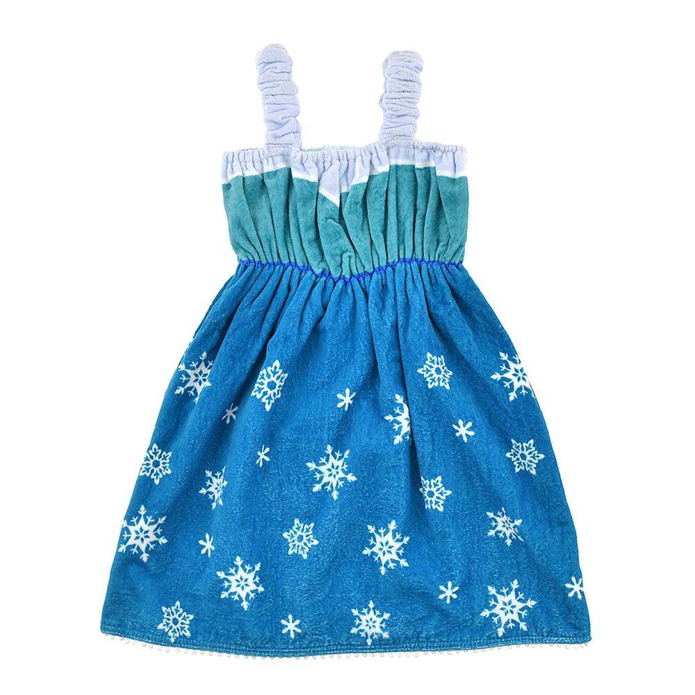 エルサ キッズ用バスドレス アナと雪の女王 プチドレス