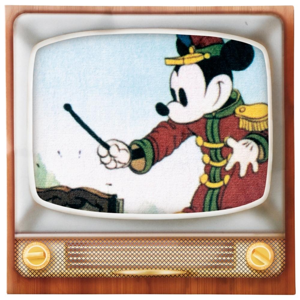ミッキーマウス ミニタオル 指揮者テレビ