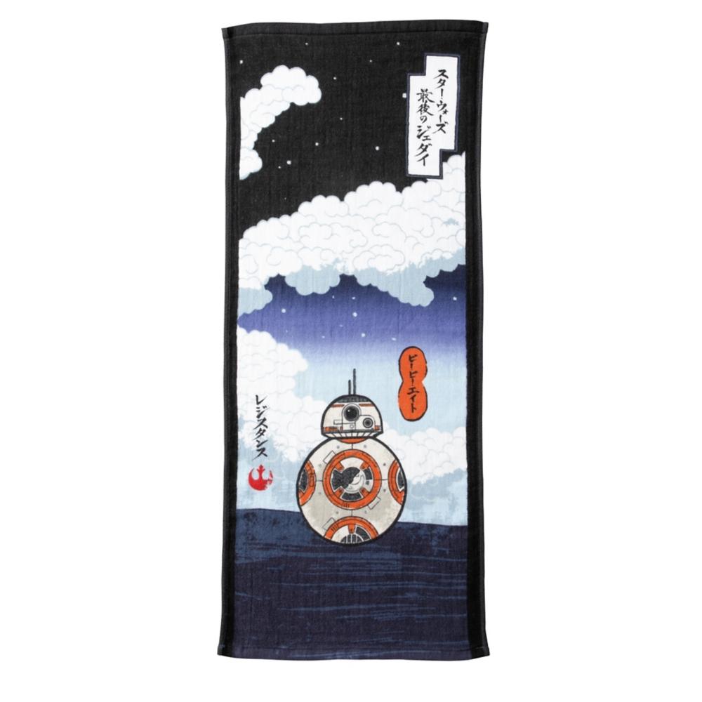 スター・ウォーズ BB-8 フェイスタオル ビービーエイトネイビー