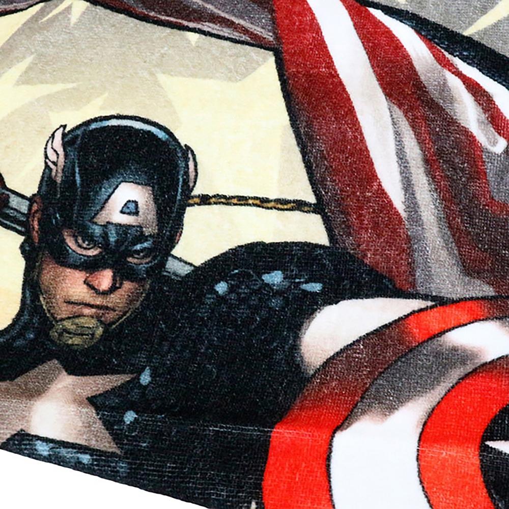 マーベル キャプテン・アメリカ フェイスタオル ラージフラッグ