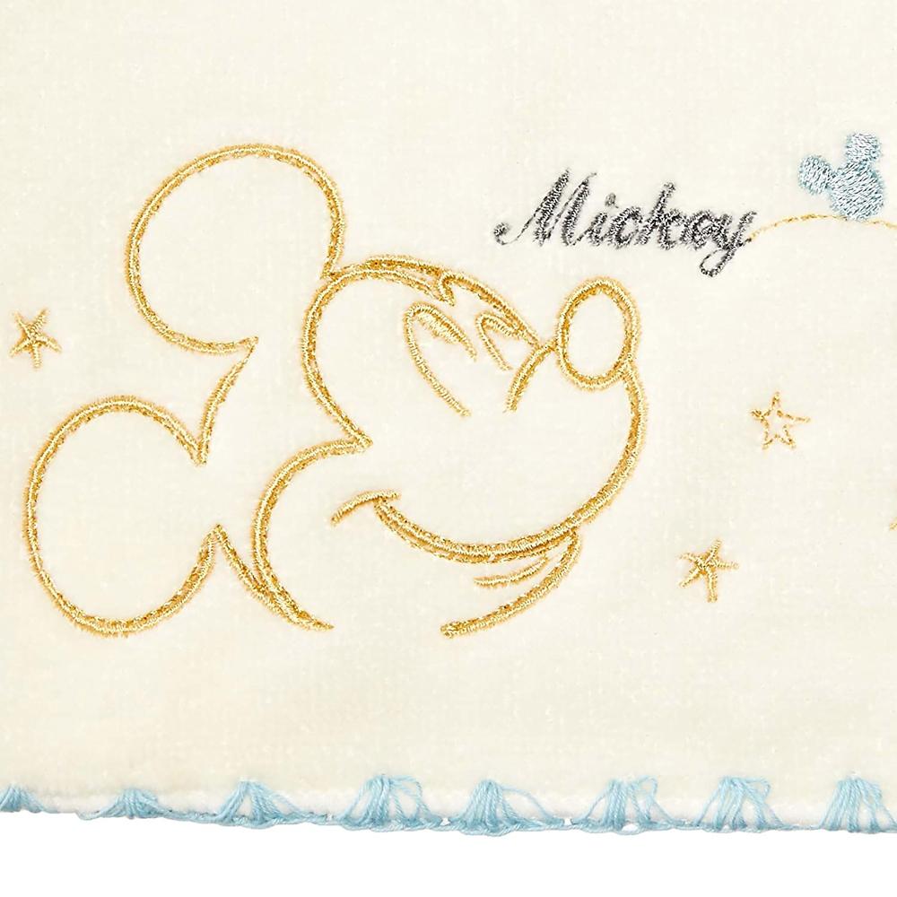 ミッキーマウス&ミニーマウス タオルギフト ウォッシュタオル・フェイスタオル 2枚セット スターハピネス