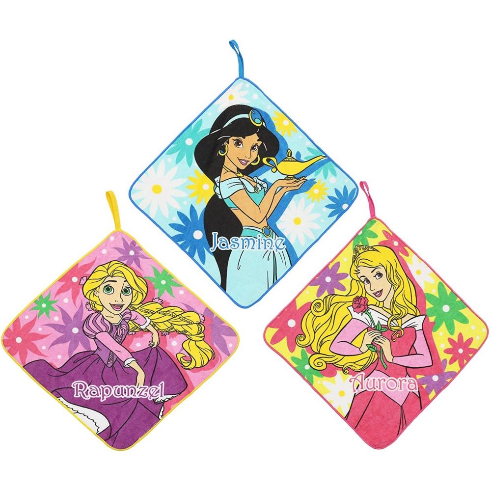 プリンセス ループタオル3枚組 ラブリーフラワー/プリンセス