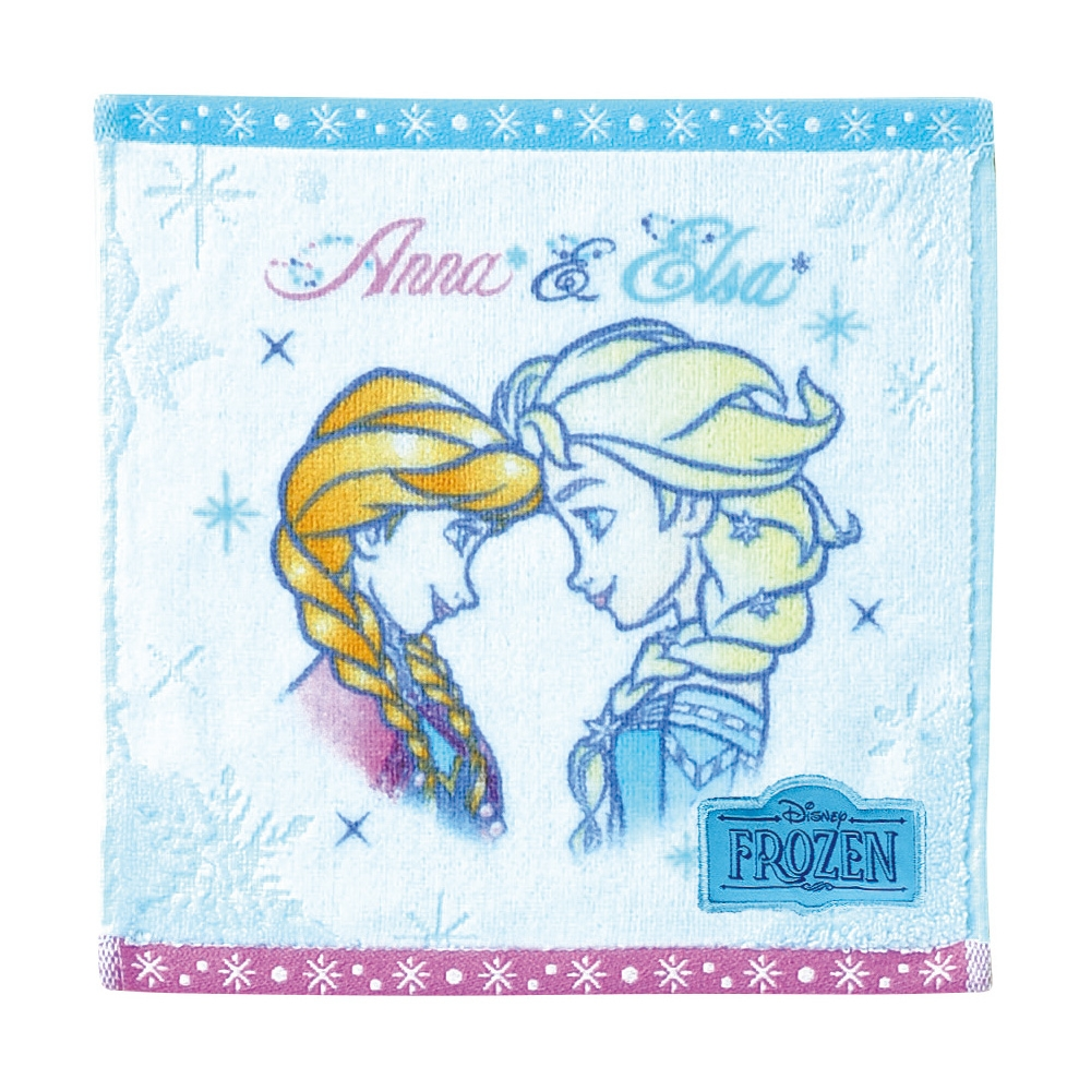 アナと雪の女王 ミニタオル クリアスノー